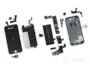 iphone 6 plus parts iphone 6 teardown ifixit
