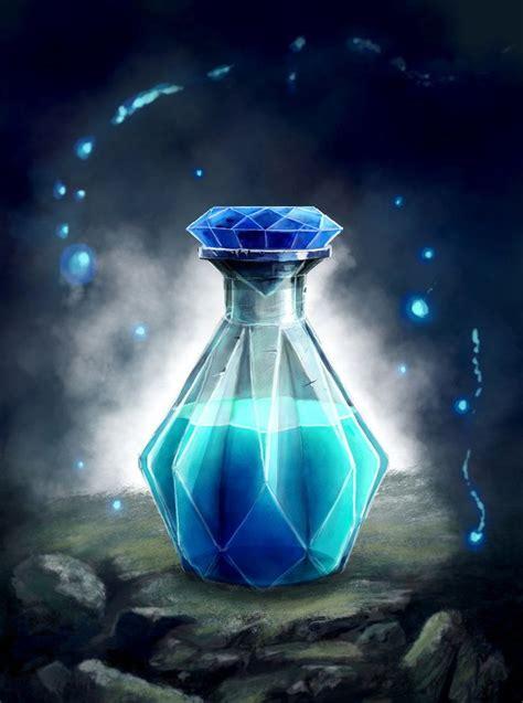 intellect crystal potion  artlandingdeviantartcom