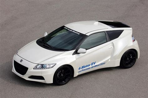 Honda Planning New Crz Electric Sports Car  Gas 2