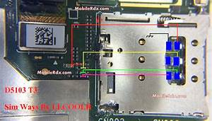 Sony Xperia T3 D5103 Sim Card Problem Repair Solution