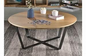 Table Basse Scandinave Ronde : table basse ronde panier mobilier design d coration d ~ Teatrodelosmanantiales.com Idées de Décoration