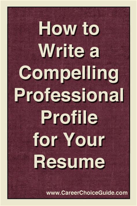 How To Make Your Resume More Marketable by Resume Profiles That Make A Great Impression