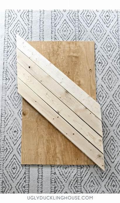 Table Diy Coffee Wood Scrap Leg Hairpin