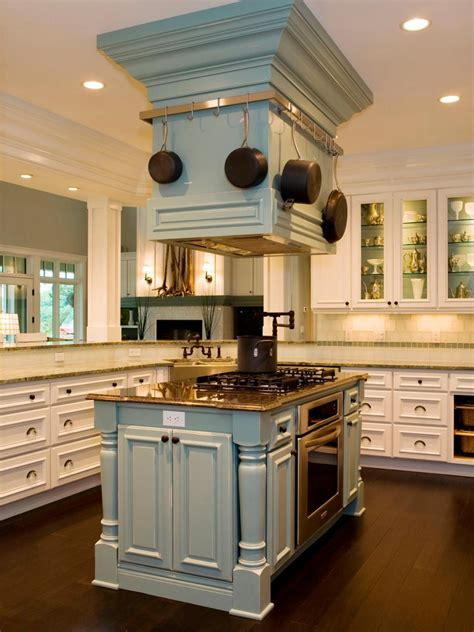designer kitchen islands stylish kitchen treatments hgtv