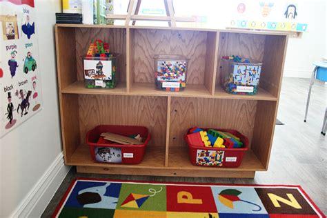 classroom miss bonnie s preschool st george ut 518   Miss Bonnies Preschool block toy area
