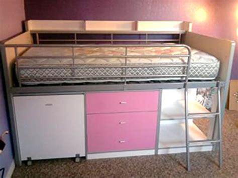savannah loft bed with desk savannah loft bed with storage and work desk buy online