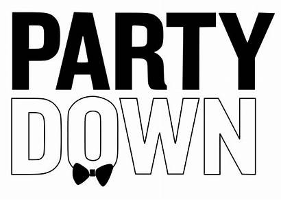 Party Down Wikipedia Word Written Cliparts Birthday