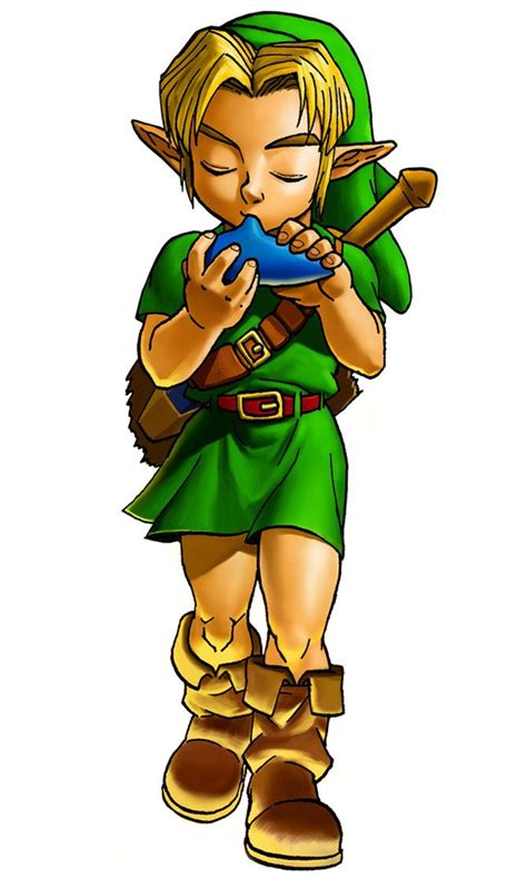 Ten Year Old Link Cute But Not As Hot As Adult Link Link