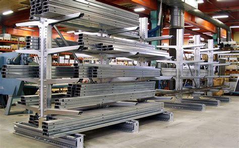 scaffali industriali scaffalature cantilever scaffali industriali cantilever