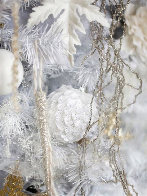 white christmas tree decorating ideas easy crafts and