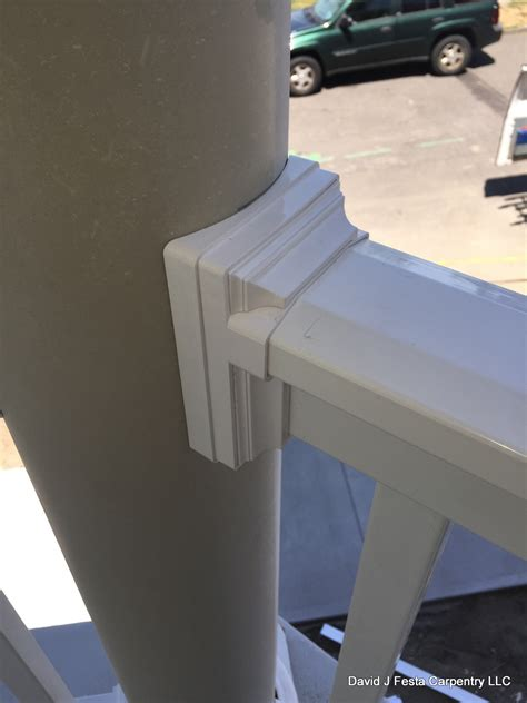 wolf railing universal  column adapter decks