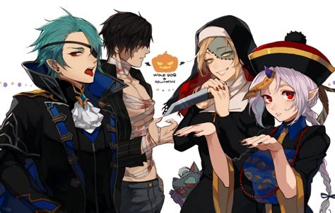 Anime Boy Eye Patch Wallpaper Anime Boys Knife
