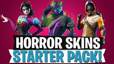 horror zombie skins starter pack leak fortnite