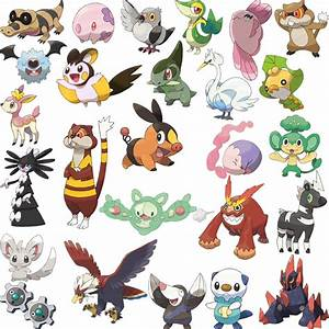 all new pokemon images