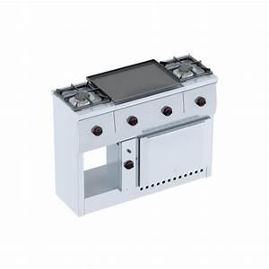 Four à Gaz Encastrable : piano de cuisson gaz 2 feux plancha four 4410 3 ~ Dailycaller-alerts.com Idées de Décoration