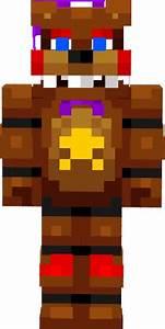 Rockstar Freddy Fnaf 6 Nova Skin