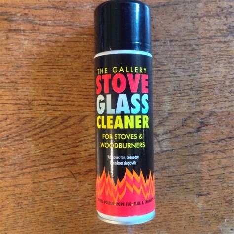 stove glass cleaner  stoves woodburners ml removes