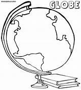 Globe Coloring 1000px 62kb Colorings sketch template