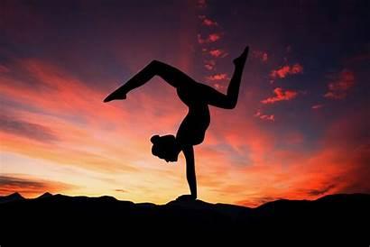 Yoga Sunset Trpv1 Balance Cbd Lifestyle Woman