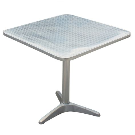 stainless steel table l 1 24 quot x24 quot brushed stainless steel cafe table mr10911
