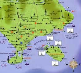 East Bali Map
