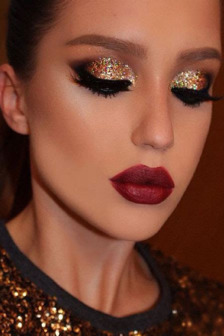 christmas party makeup ideas  girls women  modern fashion blog