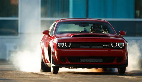 2018 Dodge Challenger Srt Demon Is A Horsepower Monster