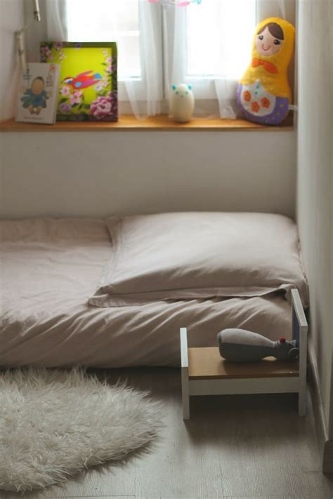 chambre violette 184 best images about montessori floor bed on
