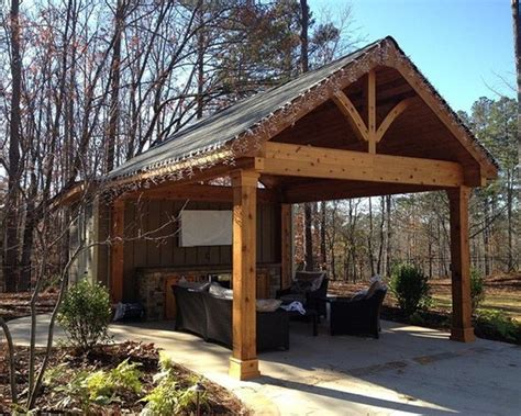 How To Build Covered Porch by How To Build A Freestanding Patio Cover Pictures Photos