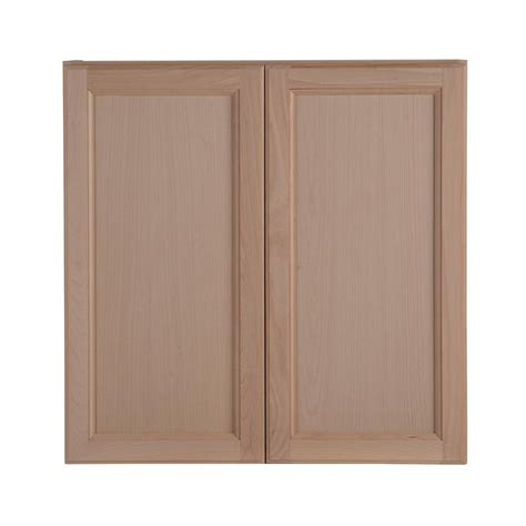 unfinished kitchen wall cabinets hton bay assembled 30 in x 30 in x 12 62 in 6631