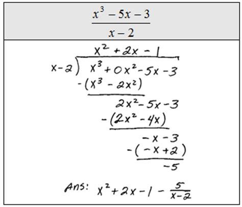 Openalgebracom Dividing Polynomials
