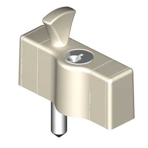 yale multi bolt window lock white