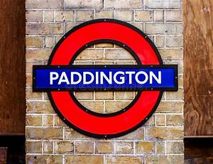 London station sign editorial photography. Image of train ...