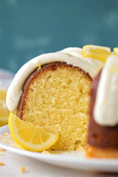 lemon bundt cake recipe food drink bake lemon