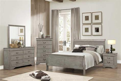 Gray Bedroom Set   The Furniture Shack   Discount