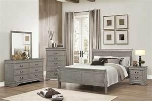 Gray Bedroom Set - The Furniture Shack Discount