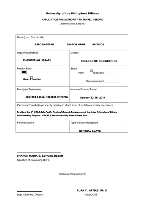 free consent to change attorney form sle form request for travel authority