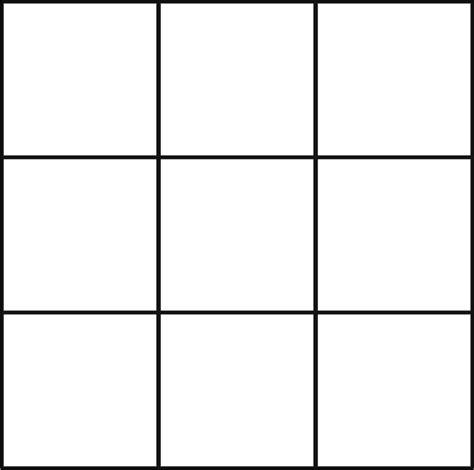 bingo template posts
