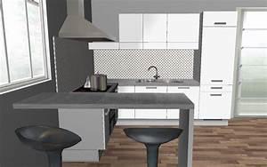 Küche Bilder Deko : k chentheke f r kleine k che ~ Whattoseeinmadrid.com Haus und Dekorationen