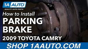 How To Replace Parking Brake Shoes And Hardware 92
