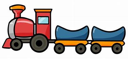 Train Cartoon Clip Clipart Animated Trains Railroad