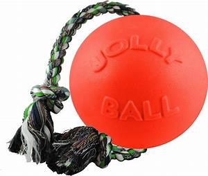 Jolly, Pets, Romp-n-roll, Dog, Toy, Orange, 4, 5-in
