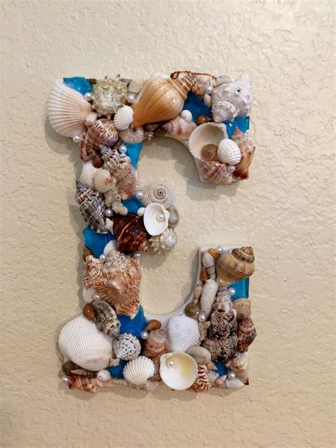 sea shell letter sold shell crafts seashell crafts michaels craft