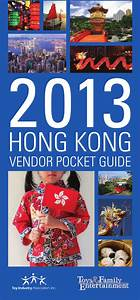 Hong Kong Vendor Pocket Guide 2013 By Anb Media