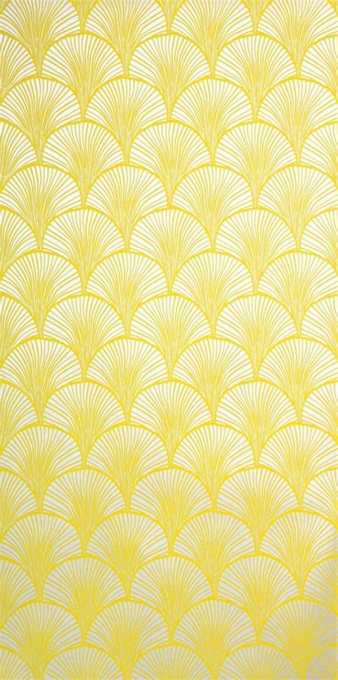 Tapete Gelb Muster by Eine Gelbe Tapete Im Schlaf Oder Wohnzimmer Wirkt Sehr