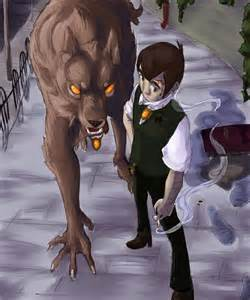 Werewolf Anime Wolf Boy Images