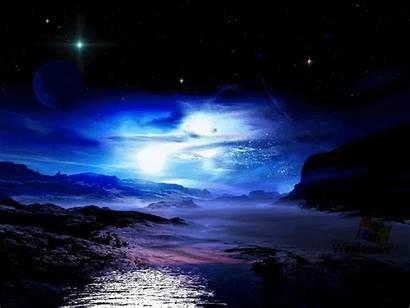 Sky Iphone Moonlight Moon Desktop Google Ocean