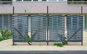 Edelstahl Sichtschutz Metall : metall werk z rich ag sichtschutz aus rohem stahl schwarzblech ~ Orissabook.com Haus und Dekorationen