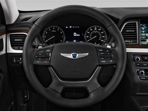 image  genesis   awd steering wheel size