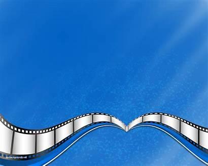 Powerpoint Film Strip Templates Background Cinema Theme